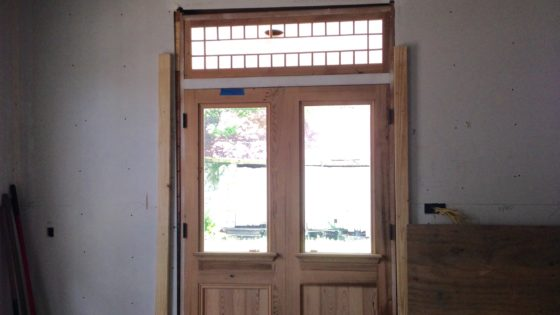 Doors & Transom Fabricated & Installed