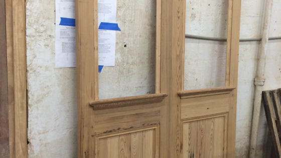 Unfinished Fabricated Doors