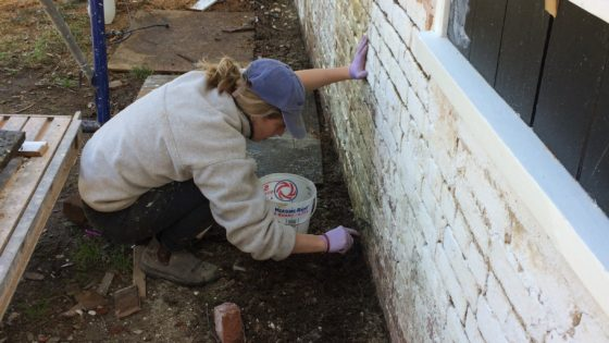 Repointing 4